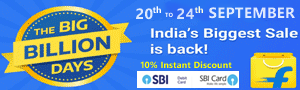 Flipkart Big Billion Days Sale Offers List 20-24 September